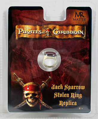 Pirates of the Caribbean Jack Sparrow Stolen Ring Master Replicas NEW SEALED