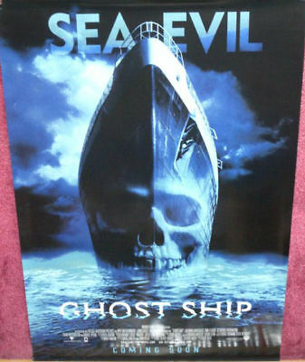 Cinema Poster: GHOST SHIP 2002 (1sh) Gabriel Byrne