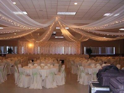 "54""x 80 Yards/240 Ft Tulle Wedding Decoration 25 Colors"
