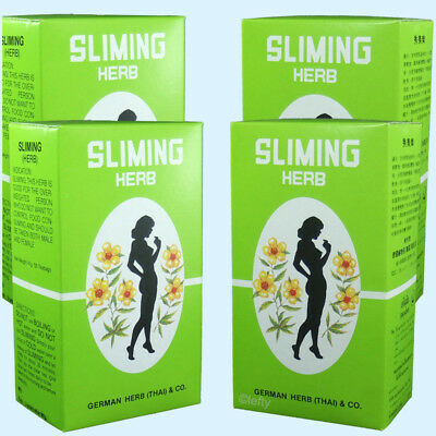 200 BAGS GERMAN HERB SLIMING TEA  diet fatburner