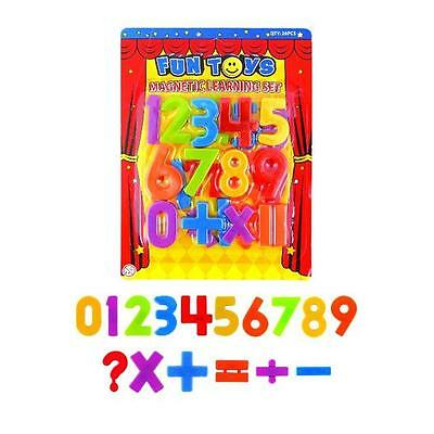 Magnetic Numbers Childrens Kids Maths Learning Magnets