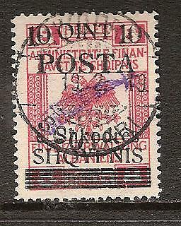 ALBANIA # 100 Used GENERAL ISSUE