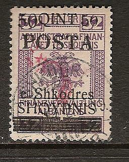 ALBANIA # 96 Used GENERAL ISSUE
