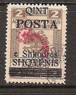 ALBANIA # 91 Used GENERAL ISSUE