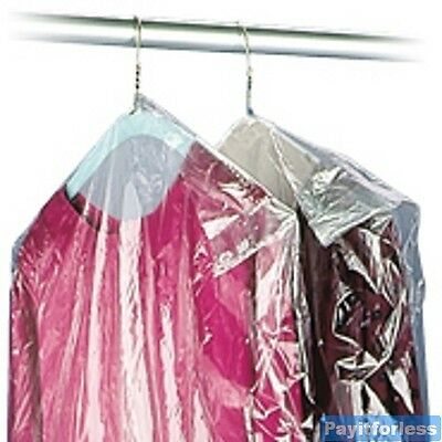 21x4x38 Dry Clean Plastic Garmen Dress Clothes Bags 663