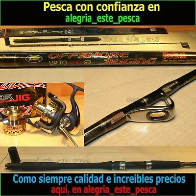 PESCA EQUIPO JIGGING (OFFSHORE 1.65mts + AIR JIG 80)