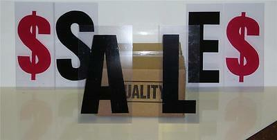 """8"""" on 10""""  Outdoor Marquee Changeable Sign Letters 302"""