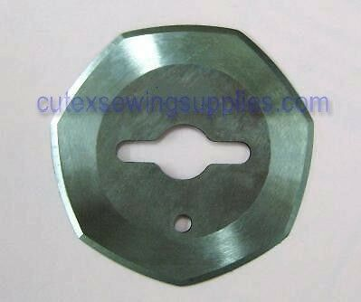 """2"""" HEPTAGONAL REPLACEMENT BLADE FOR HAND HELD CUTTERS"""
