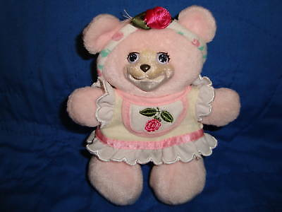 "Fisher Price Briarberry Plush Bear Baby Anna 6"" 2000"