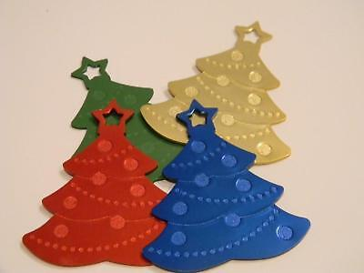 Anodized Christmas Tree New Years Holiday 4 Colors