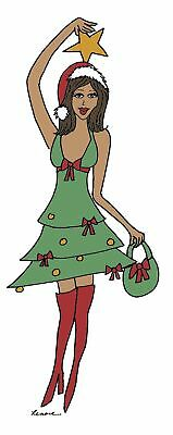 african american diva with poodle christmas cards 11 99 picclick