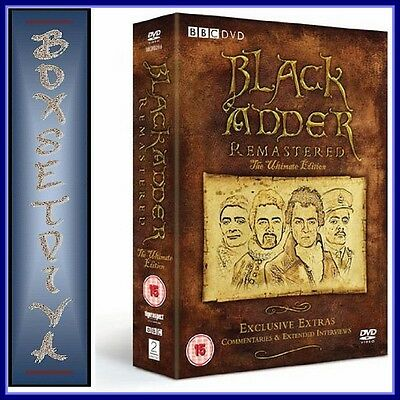 Bbc Black Adder - Remastered The Ultimate Edition **brand New Dvd Boxset*