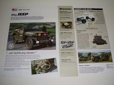 1941 - 1945 Willys Jeep car ad