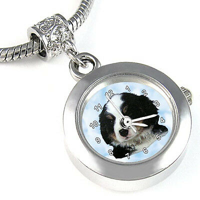 Bernese Mountain Dog Charms Watch For Bracelet EBA060