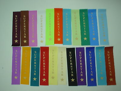 """ Superstar "" Award Ribbons, For Events And Fundays"