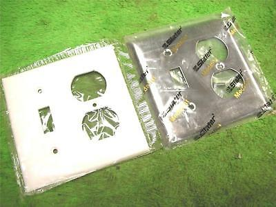 30 STA-KLEEN WALLPLATES S-94532 TOGGLE RECEPTICAL PLATE