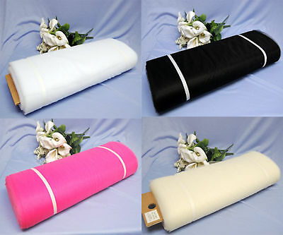 "54""x 40 Yards/120 Ft Tulle Wedding Decoration 26 Colors Wedding Party Draping"