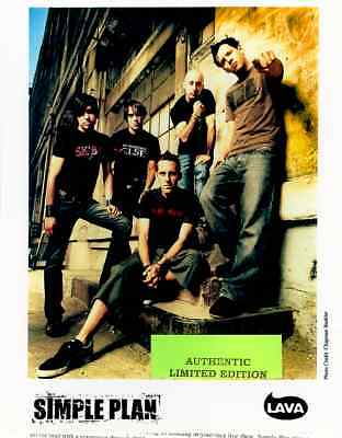 simple plan limited edition press kit