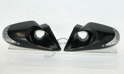 Evo K6 M6 Black Door Wing Mirrors For Ford Puma