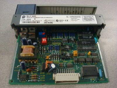 USED Allen Bradley 1746-NIO4I/A SLC 500 Combination I/O