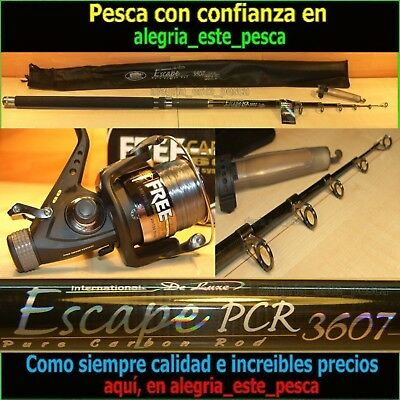 EQUIPO PESCA CARP FISHING ESCAPE 3.60mts + FREE CARP 60