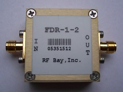 Frequency Doubler 0.01-1.0GHz Input, FDR-1-2, New, SMA