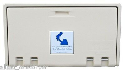 Allied Hand Dryer (Private Label) Baby Changing Station Cream Horiz AHD100-00