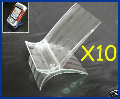 10/Lot New Mobile Phone Cellphone Display Stand Holder