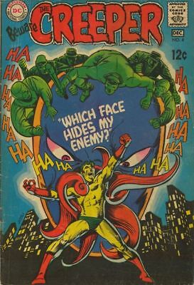 BEWARE THE CREEPER #4 Very Good, Steve Ditko, DC 1968
