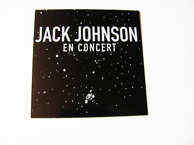 Jack Johnson En Concert Live Bike Surf Board Sticker