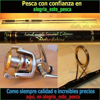 EQUIPO PESCA SPINNING - RED PANTHER 2.70mt + PHOENIX 50