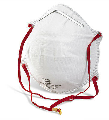 BBP2 FFP2 Disposable Dust Mask Respirators High Protection - 20 Mask Box