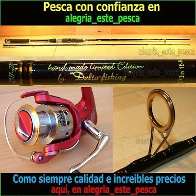 EQUIPO PESCA SPINNING- RED PANTHER 2.70mt + DEVIL II 60