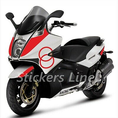 adesivi carena GILERA GP800 kit adesivi GILERA GP 800 stickers gilera RACING
