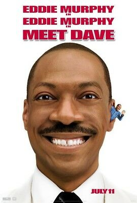 MEET DAVE MOVIE POSTER 2 Sided ORIGINAL Version B 27x40