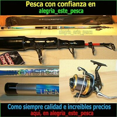 PESCA EQUIPO SURF CASTING OYSTER 4.20m + POSEIDON 8000F