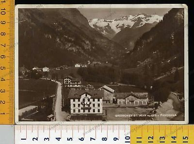 8977] Aosta - Gressoney St. Jean - Panorama