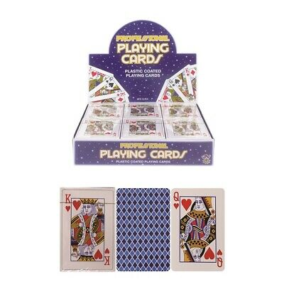 Plastic Coated Playing Cards Security Sealed Travel Holidays Family Games Poker