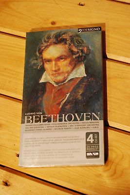 Beethoven Classical Compilation 4 Cd Set & Booklet New Sealed
