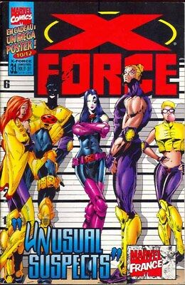 X-FORCE N° 31 comics Semic