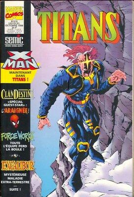 TITANS N° 213 comics SEMIC Marvel