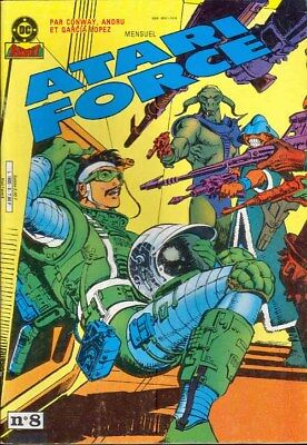 ATARI FORCE N° 8 comics aredit artima