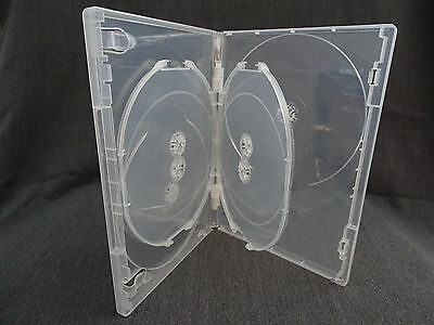 Dvd Cover / Cases Clear - Single 6 Disc - Viva - 14Mm - Quantity 5 Only