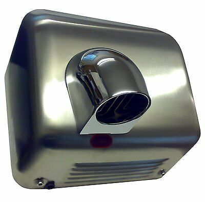 CHROMED STEEL Auto Automatic Electric Hand Dryer DV2300S Nozzle Drier