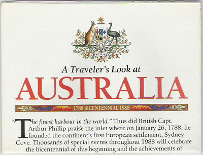 National Geographic Map Traveler's Australia 02/1988