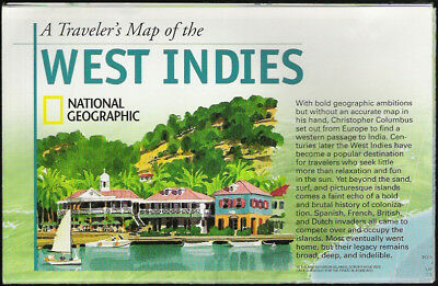 National Geographic Map Traveler's West Indies 03/2003