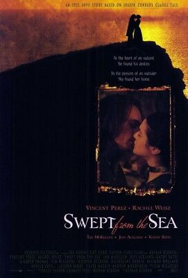 SWEPT FROM THE SEA MOVIE POSTER 2 Sided ORIGINAL 27x40