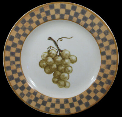 BLOCK CHINA by GEAR COUNTRY ORCHARD -- SALAD PLATE(s)