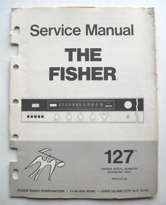 Fisher Model 127 Fm Stereo Receiver Service Manual