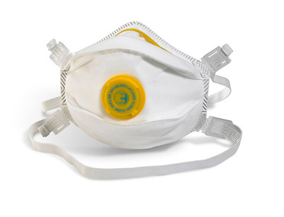 10 x FFP3V P3 Dust & Vapour Disposable Face Masks Valved Respirators Protection